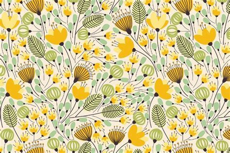 20  Flower Patterns   PSD, PNG, Vector EPS   Design Trends