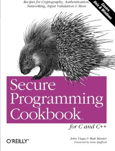 Yohe Booksky: Télécharger Secure Programming Cookbook for C