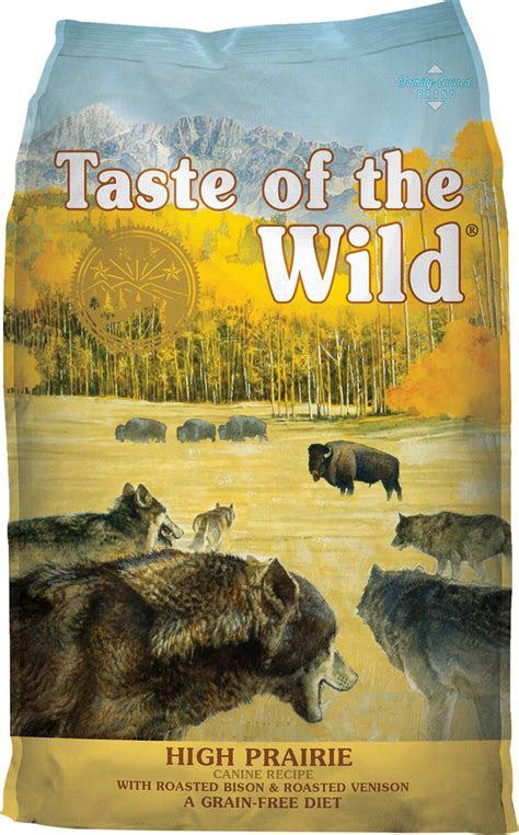 taste   wild high prairie grain  dry dog food