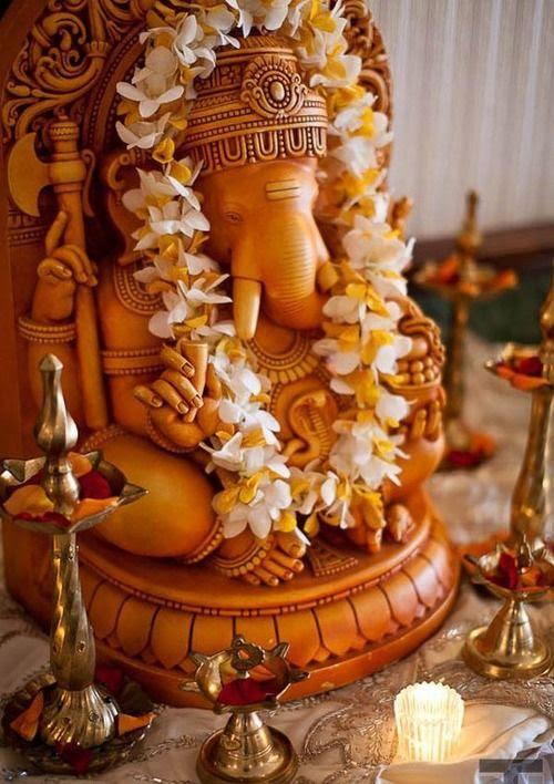 Ganesha altar