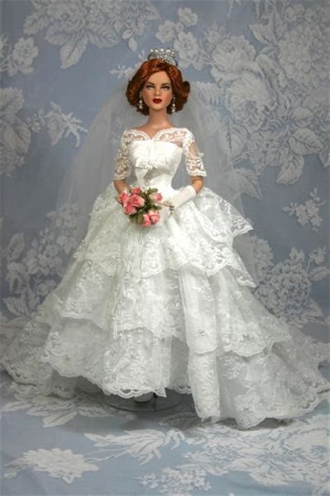1000  images about Wedding dresses for dolls. on Pinterest