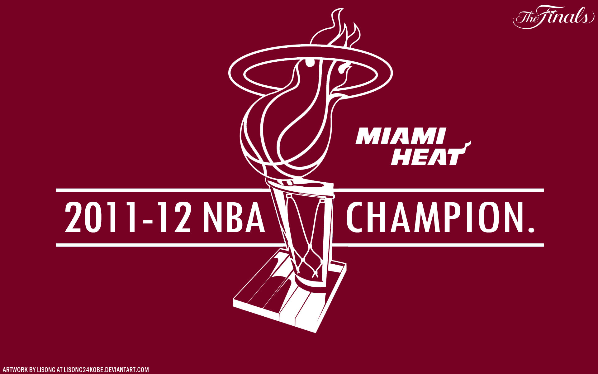 Miami Heat 2012 Nba Champions 1920 1200 Vector Wallpaper
