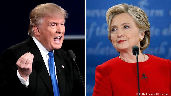 USA Wahlkampf TV Duell