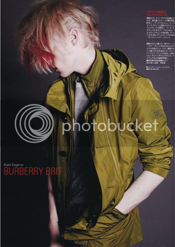 Pen #266 (1 May 2010) - Bright Elegance Burberry Brit @ StreetStylista.Guy