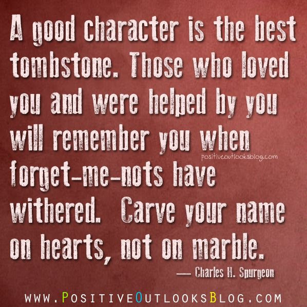 Inspirational Quotes About Good Character. QuotesGram