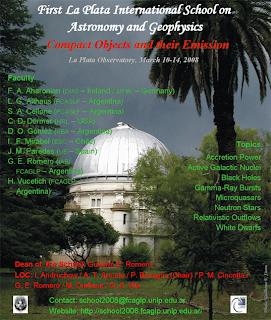 Primera escuela internacional de Astronomía y Geofísica de La Plata