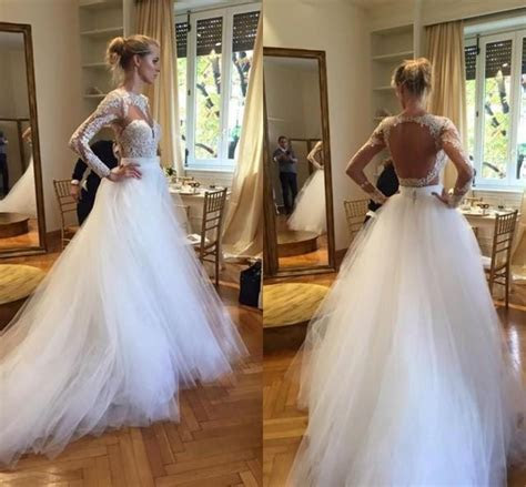 2016 Plus Size Berta Ball Gown Wedding Dresses Long