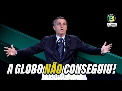 Bolsonaro ARRASA no Future Investiment Initiative 2019 sem dormir pelo fake news da Globo