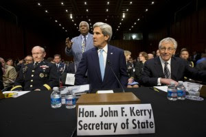 John Kerry, Chuck Hagel, Martin E. Dempsey