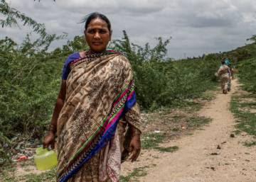 Higiene es salud para la mujer india