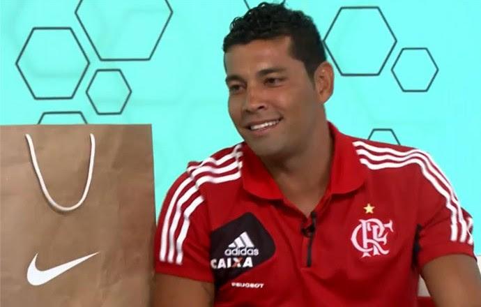 Mosaico André Santos Flamengo (Foto: Reprodução / SporTV)
