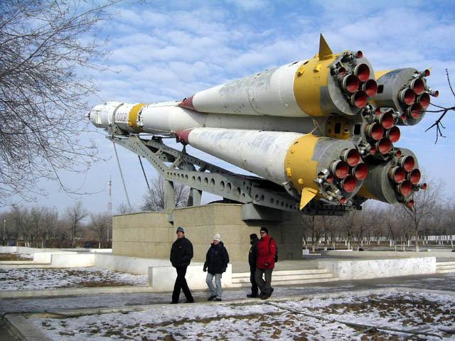 Soyuz LV em Baikonur