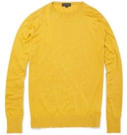 John Smedley Lyndhurst Sea Island Cotton Sweater