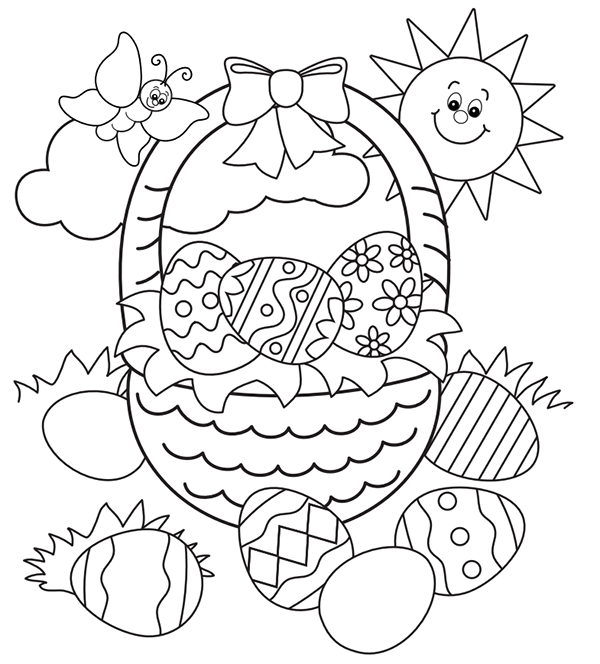 - Free Printable Easter Bunny Coloring Pages For Kids - Coloring Pages