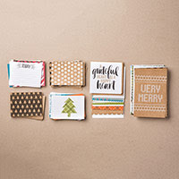 Seasonal Snapshot 2015 Project Life Card Collection