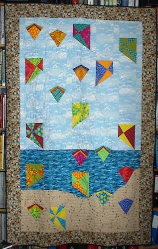 Kite quilt finished