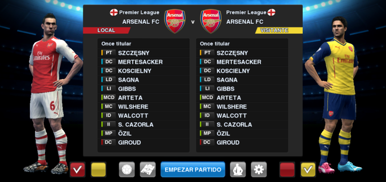 PES 2013 Arsenal 2014/2015 Kitset (UPDATE 08/08/2014) by BK-201