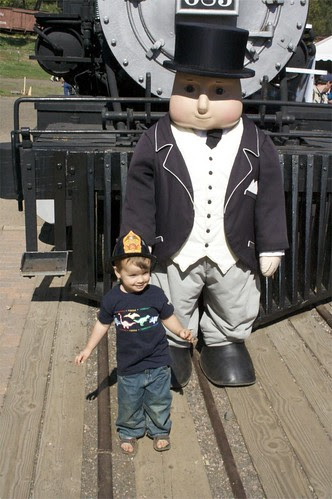 Felix and Sir Topham Hat