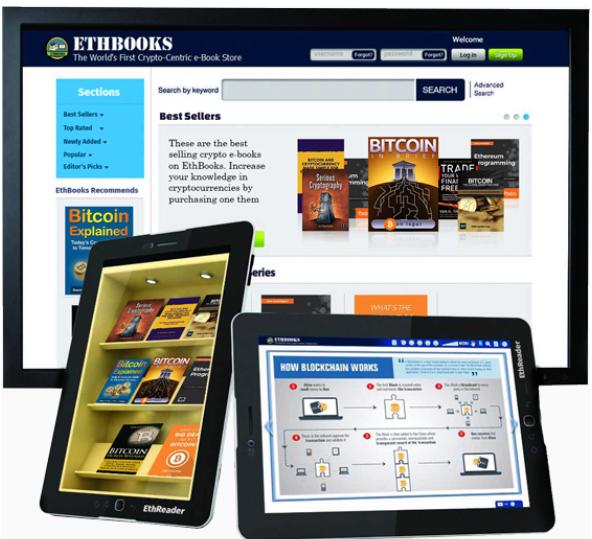 EthBooks sebuah platform Ebook yang terdesentralisasi