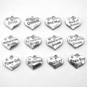 wedding charm set
