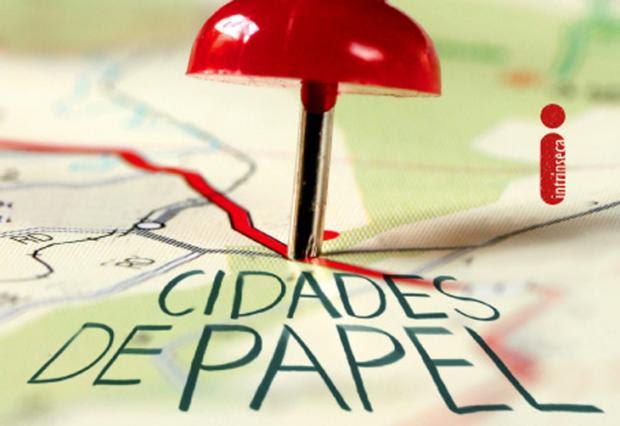 'Cidades de Papel' é o novo livro do escritor John Green Reprodução Intrinseca/