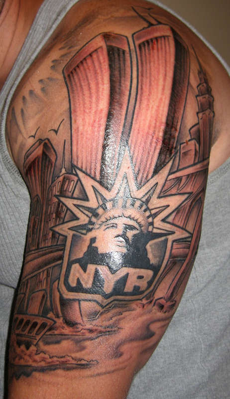 America Statue Of Liberty Tattoo