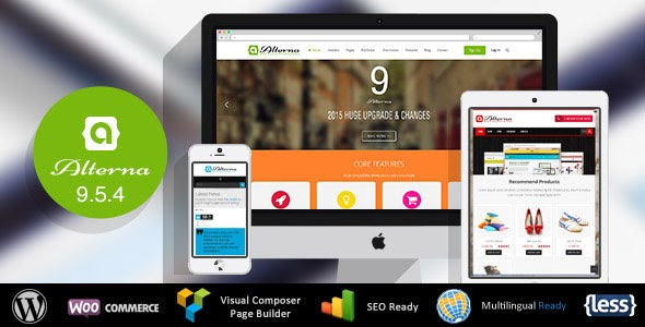 Alterna v9.5.4 - Ultra Multi-Purpose WordPress Theme