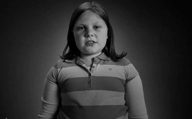 Campanha sobre obesidade infantil na Georgia provoca polêmica. Stop Childhood Obesity: Tina (Foto: Reprodução/Children's Healthcare of Atlanta)
