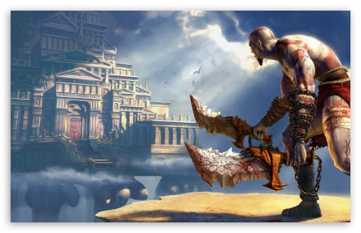 God Of War 2 Uhd Desktop Wallpaper For 4k Ultra Hd Tv Wide