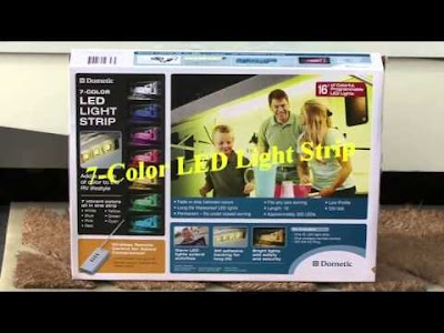 RV Education 101 videos: Exterior RV LED Lighting, Spare Tire, Power Cords, Electrical System Protection, Roof Inspection & Tire Pressure Tips
