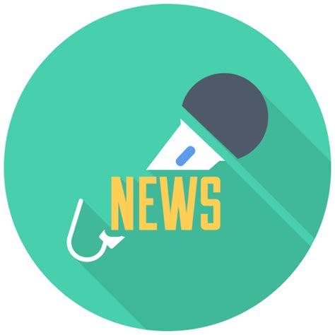 news mic iphone icon  flat multimedia iconset
