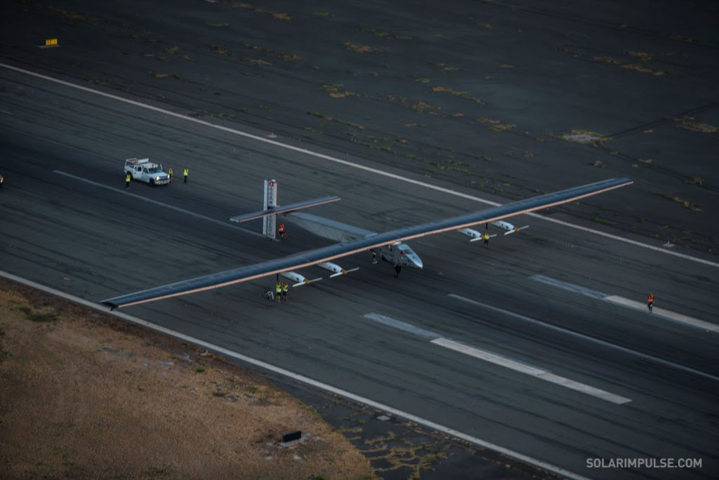 Solar Impulse chegou no Hawaii (1)