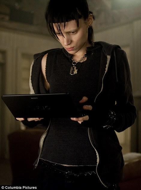 Nomeados: Rooney Mara em The Girl With The Dragon Tattoo e Jessica Chastain na Ajuda ambos foram nomeados para os óscares