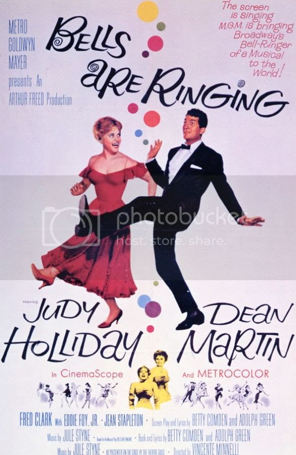 Bells Are Ringing 1960 film poster photo bells-are-ringing-movie-poster-1960_zps843c604f.jpg