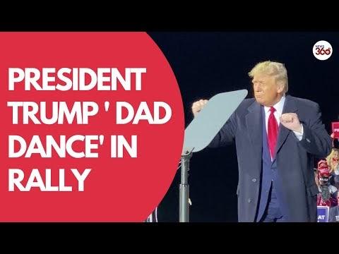 President Trump dances to YMCA at Ohio rally - News 360 Tv