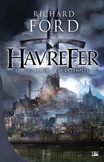 Couverture Havrefer, tome 1 : Le Héraut de la tempête