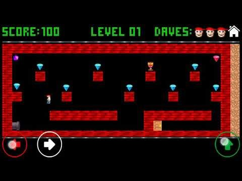 Dangerous Dave game for android remember school days