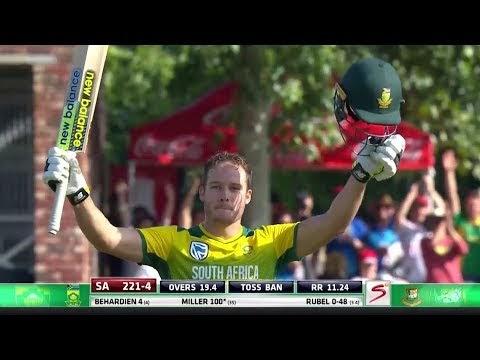 T20 Fastest Hundred    David Miller vs Bangladesh