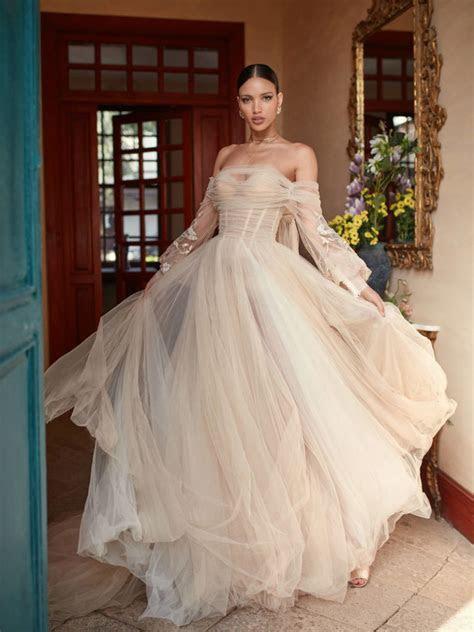 Galia Lahav 2018 Florence By Night   ElegantWedding.ca