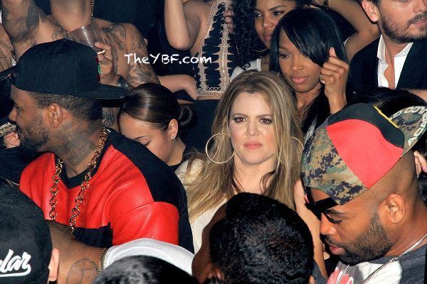 WELL LOOKY HERE: KHOLE KARDASHIAN SPOTTED TWERKING ON RAPPER THE GAME IN THE CLUB - DivaSnap.com