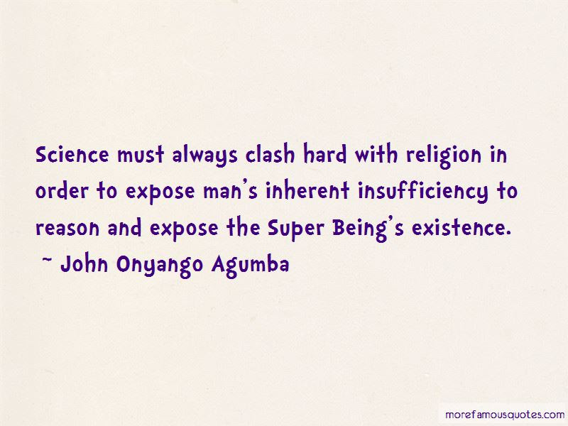 Science And Religion Clash Quotes Top 4 Quotes About Science And