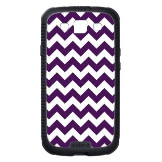 Purple and White Zigzag Galaxy SIII Cases