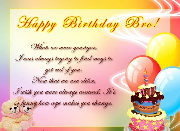 38 Happy Birthday Wishes For Best Brother Preet Kamal