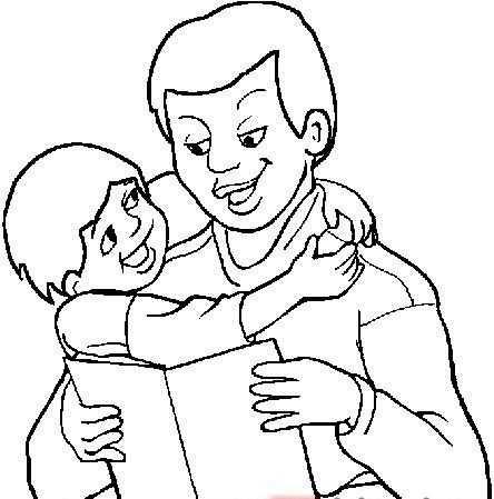 Babalar Gunu Boyama Sayfalari 82 Okul öncesi Etkinlik