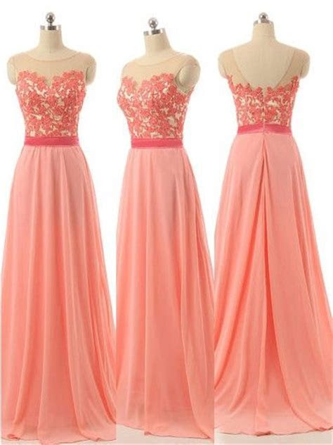 25  best ideas about Coral bridesmaid dresses on Pinterest