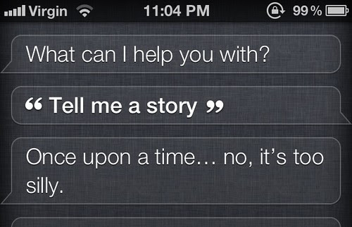 The Stuff Siri Says