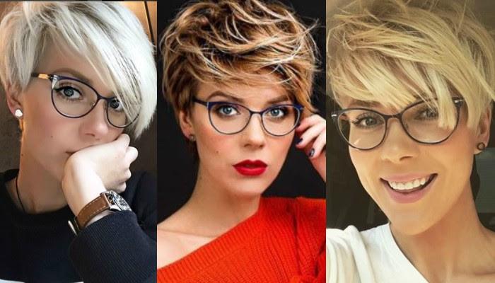 13x Die Schönsten Frisuren Mit Brille Kurzhaarfrisuren Frauencom
