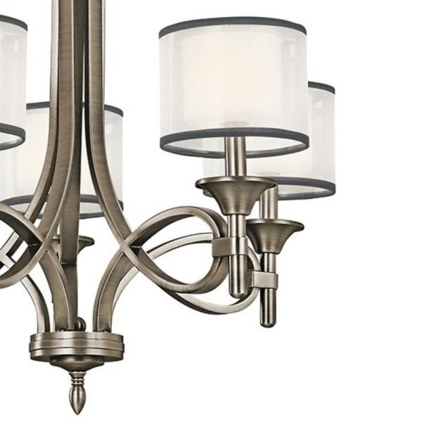 Antique Pewter Chandelier / Antiques Atlas A French Pair Of Pewter 8 Light Chandeliers