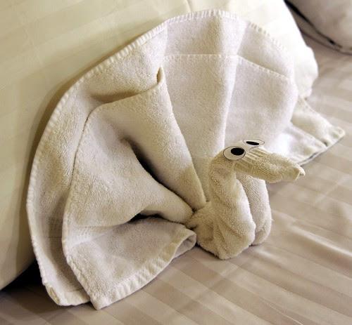 Towel Bird by RV Bob
