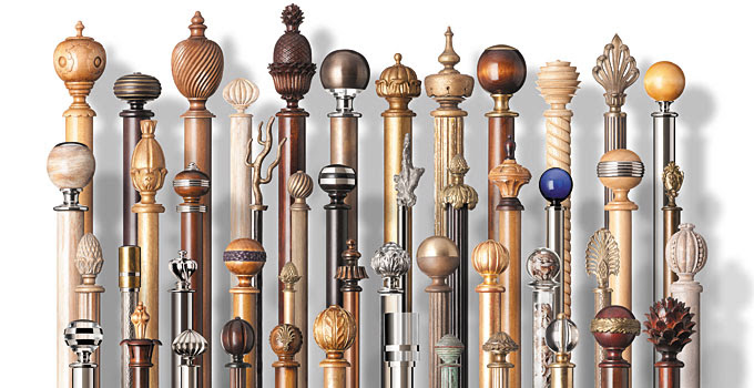 Bespoke Curtain Pole Finials Traditional Modern British Finials